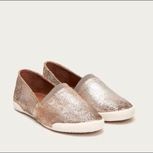 New Frye Melanie slip on flats shoes